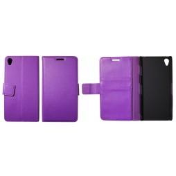 Sony Xperia Z3 - Preklopna torbica (WL) - vijolična
