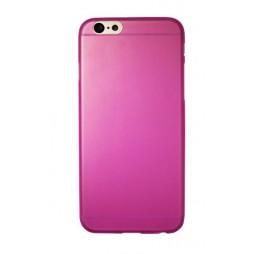 Apple iPhone 6/6S - Gumiran ovitek (TPUT) - roza