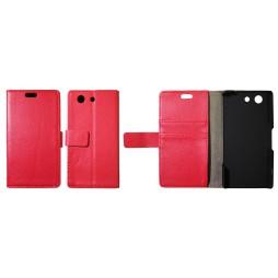 Sony Xperia Z3 Compact/Mini - Preklopna torbica (WL) - rdeča