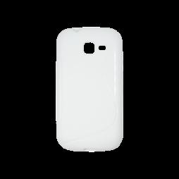 Samsung Galaxy Trend Lite - Gumiran ovitek (TPU) - bel SLine