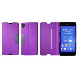 Sony Xperia Z3 - Preklopna torbica (47G) - vijolična