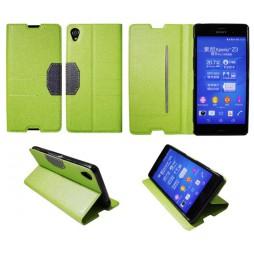 Sony Xperia Z3 - Preklopna torbica (47G) - zelena