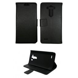 LG G3 S - Preklopna torbica (WL) - črna