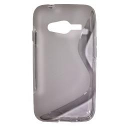 Samsung Galaxy Trend 2/S Duos 3/Trend 2 Lite - Gumiran ovitek (TPU) - belo-prosojen SLine