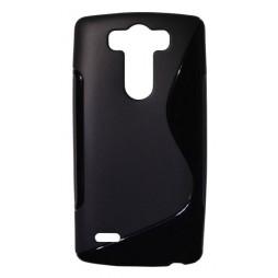 LG G3 S - Gumiran ovitek (TPU) - črn SLine