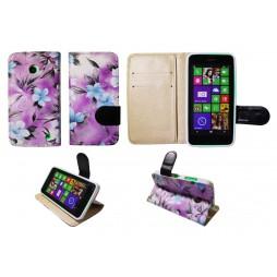 Nokia Lumia 630/635 - Preklopna torbica (64) - vijolična