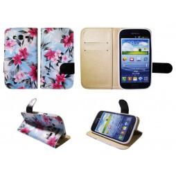 Samsung Galaxy Grand/Grand Neo - Preklopna torbica (64) - modra