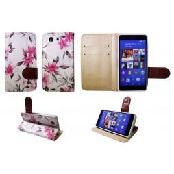 Sony Xperia Z3 Compact/Mini - Preklopna torbica (64) - bela