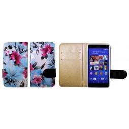 Sony Xperia Z3 Compact/Mini - Preklopna torbica (64) - modra