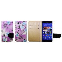 Sony Xperia Z3 Compact/Mini - Preklopna torbica (64) - vijolična