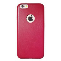 Apple iPhone 6Plus/6SPlus - Okrasni pokrovček (43) - temno roza