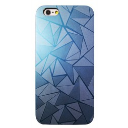 Apple iPhone 6Plus/6SPlus - Okrasni pokrovček (44) - svetlo moder