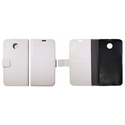 Motorola Nexus 6 - Preklopna torbica (WL) - bela