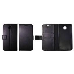 Motorola Nexus 6 - Preklopna torbica (WL) - črna