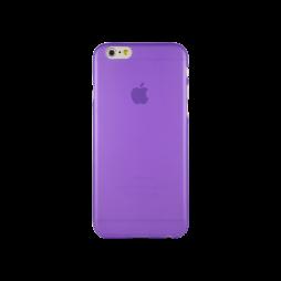 Apple iPhone 6/6S - Gumiran ovitek (TPUT) - vijoličen