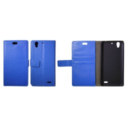 Huawei Ascend G630 - Preklopna torbica (WL) - modra