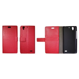 Huawei Ascend G630 - Preklopna torbica (WL) - rdeča
