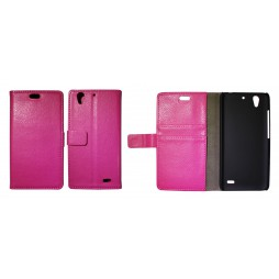 Huawei Ascend G630 - Preklopna torbica (WL) - roza