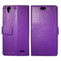 Huawei Ascend G630 - Preklopna torbica (WL) - vijolična