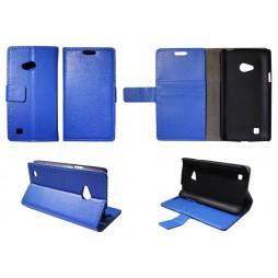 LG L50 - Preklopna torbica (WL) - modra