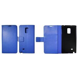 Samsung Galaxy Note Edge - Preklopna torbica (WL) - modra