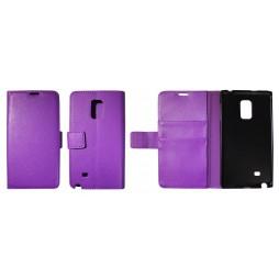 Samsung Galaxy Note Edge - Preklopna torbica (WL) - vijolična