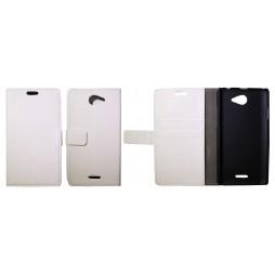 HTC Desire 516 - Preklopna torbica (WL) - bela