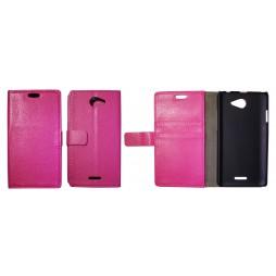 HTC Desire 516 - Preklopna torbica (WL) - roza