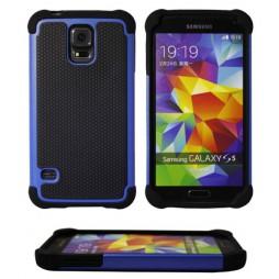 Samsung Galaxy S5/S5 Neo - Gumiran ovitek (25) - moder