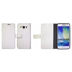 Samsung Galaxy A3 - Preklopna torbica (WLG) - bela