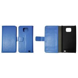 Samsung Galaxy S II - Preklopna torbica (WL) - modra