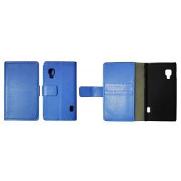 LG Optimus L5 II - Preklopna torbica (WL) - modra