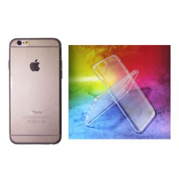 Apple iPhone 6/6S - Gumiran ovitek (TPUA) - prosojen