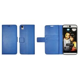 HTC Desire Eye - Preklopna torbica (WLG) - modra