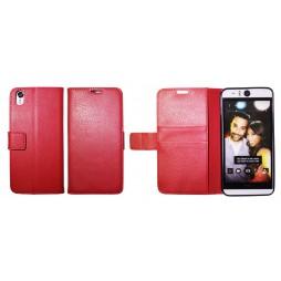 HTC Desire Eye - Preklopna torbica (WLG) - rdeča