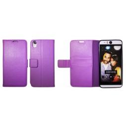 HTC Desire Eye - Preklopna torbica (WLG) - vijolična