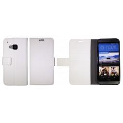 HTC One M9 - Preklopna torbica (WLG) - bela