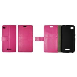 HTC Desire 320 - Preklopna torbica (WLG) - roza