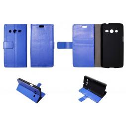 Samsung Galaxy Core LTE - Preklopna torbica (WL) - modra