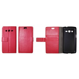 Samsung Galaxy Core LTE - Preklopna torbica (WL) - rdeča