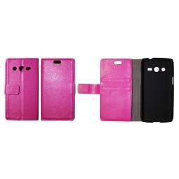 Samsung Galaxy Core LTE - Preklopna torbica (WL) - roza