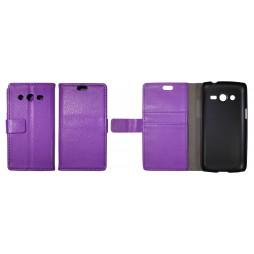 Samsung Galaxy Core LTE - Preklopna torbica (WL) - vijolična