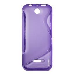 Nokia 225 - Gumiran ovitek (TPU) - vijolično-prosojen SLine