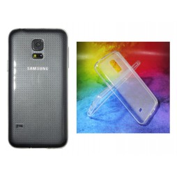 Samsung Galaxy S5 Mini - Gumiran ovitek (TPUA) - prosojen