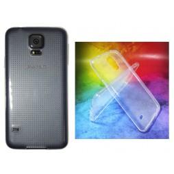 Samsung Galaxy S5/S5 Neo - Gumiran ovitek (TPUA) - prosojen