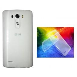 LG G3 - Gumiran ovitek (TPUA) - prosojen