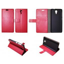 HTC Desire 620 - Preklopna torbica (WL) - rdeča