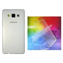 Samsung Galaxy A5 - Gumiran ovitek (TPUA) - prosojen