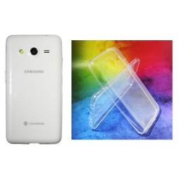 Samsung Galaxy Core 2 - Gumiran ovitek (TPUA) - prosojen