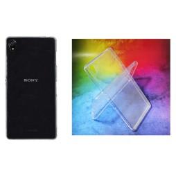 Sony Xperia Z3 - Gumiran ovitek (TPUA) - prosojen